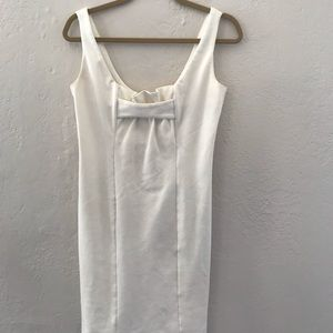 Cream dress, dress it up or down! Jack BB Dakota.